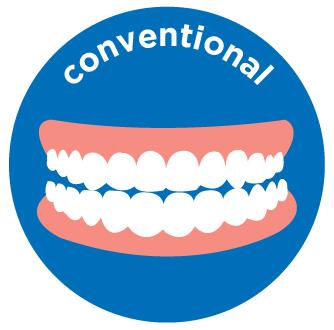 upper/lower conventional denture costs aspen dental